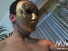 sexy-german-slut-sucking-masked-boys-in-threesome