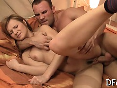 Amazing Virgin Hotty Masturbates