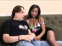 Natural Tits Ebony Ivy Sherwood Fucked With White Men