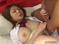 young Japanese schoolgirl getting fucked