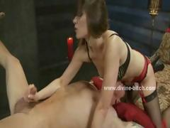 men-hanged-in-ropes-used-by-dominatrix-slut-that-loves-to
