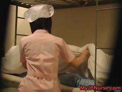 Hot Japanese nurse is up for some hot part5