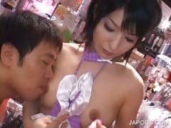 asian-stunner-gets-hairy-twat-vibed-in-a-sex-shop