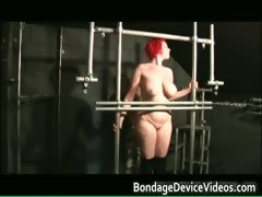 Chubby redhead babe gets bound part2