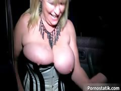 Big tits mom gets covered in cum part1
